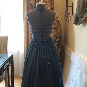 8429bf76155 Dresses - Summer Breeze Gauze Maxi Dress-Teal
